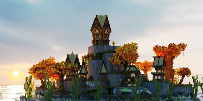 Wysokiej jakości architektura i design w Minecraft